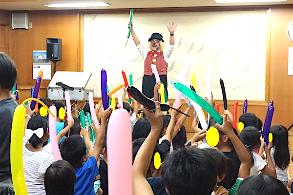 子ども会 楽しい出張イベント みんなで一緒にバルーンアート教室♪