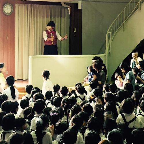 木田幼稚園ピエロの出張イベント