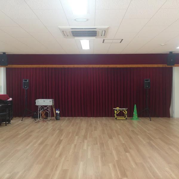 米野木台西保育園遊戯室