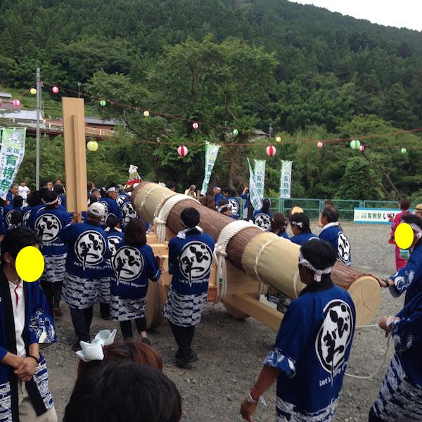 木曳き体験