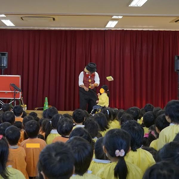 愛知県名古屋市のぜんしん保育園で出張イベント♪園児と一緒に仲良くゲーム