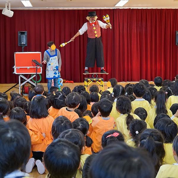 愛知県名古屋市のぜんしん保育園で出張イベント♪バランスパフォーマンス