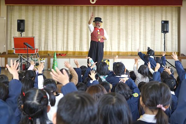 藤江保育園で出張イベント