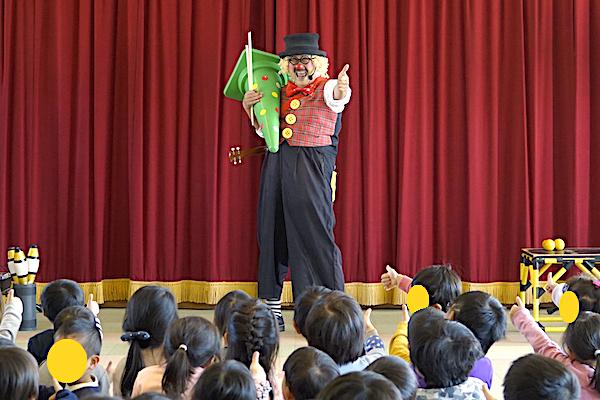 「ピエロのトントさん」幼稚園・保育園向け出張イベント、検討から当日までの流れ♪