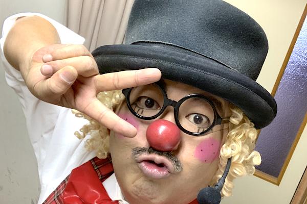 池ノ内子ども会の歓送迎会で出張イベント!ピエロが全力コメディショー♪愛知県小牧市