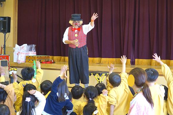 子生和保育園の花まつりでまたまたリピートコメディショー♪愛知県稲沢市