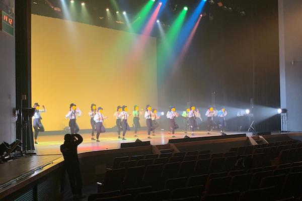 第6回桑名高校ダンス部発表会にピエロがちょこっと参加♪三重県桑名市