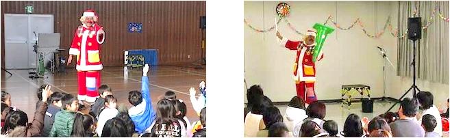 幼稚園・保育園・子ども会・学童保育などのクリスマス会におすすめ!
