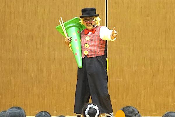 はまかぜ子ども会でピエロの楽しい出張イベント♪大阪府高石市